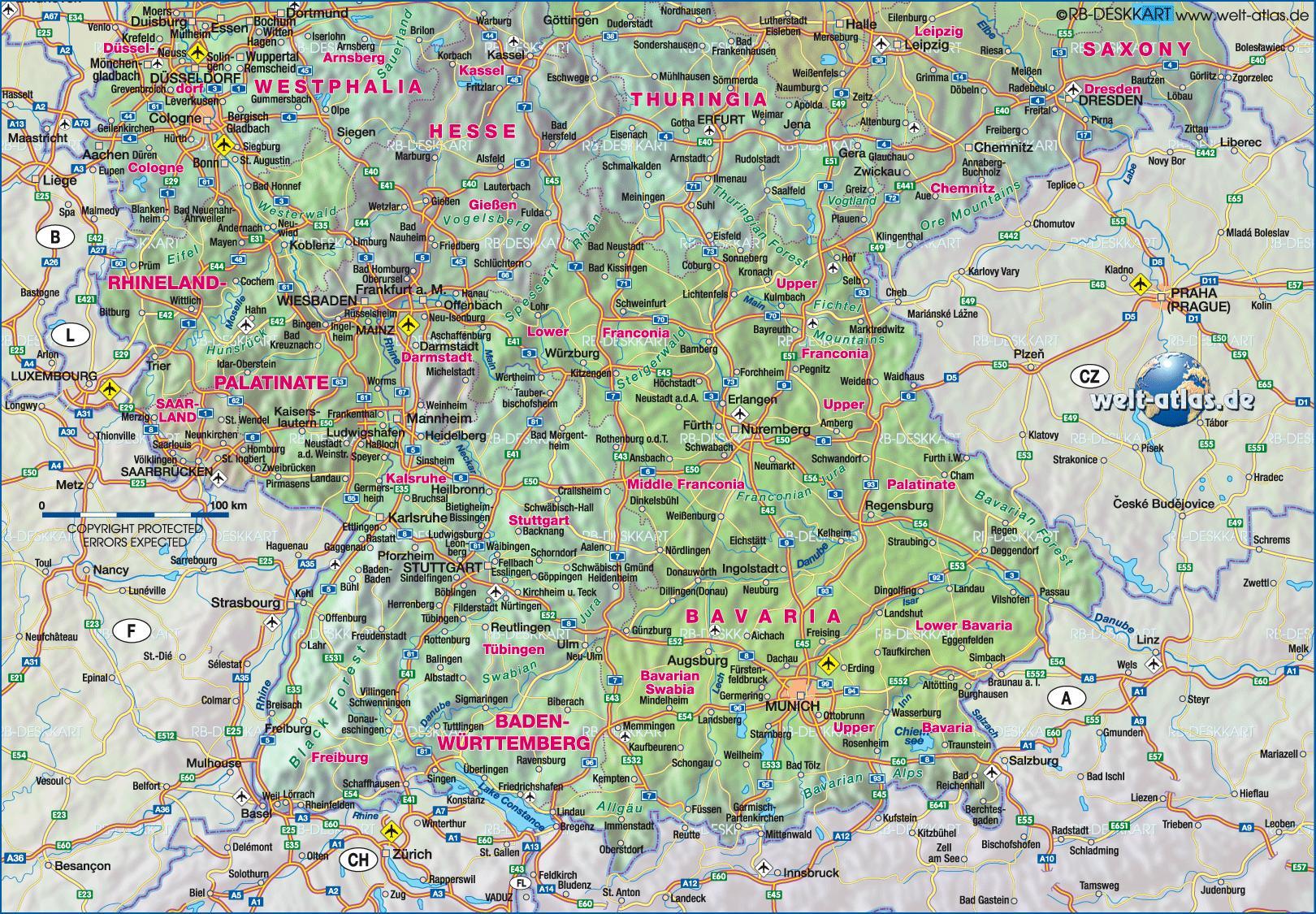 südwest deutschland